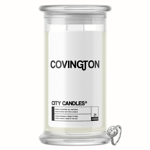 Covington City Jewelry Candle - BathBombs.Com