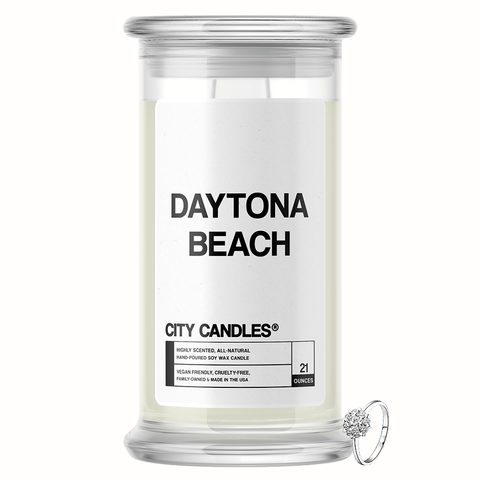 Daytona Beach City Jewelry Candle - BathBombs.Com