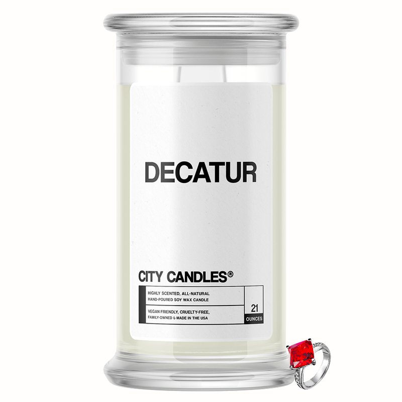 Decatur City Jewelry Candle - BathBombs.Com
