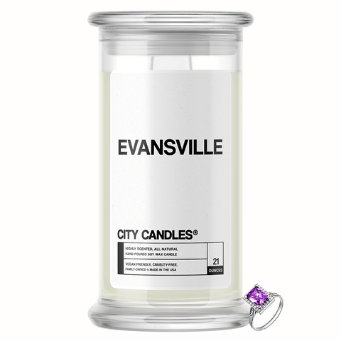 Evansville City Jewelry Candle - BathBombs.Com