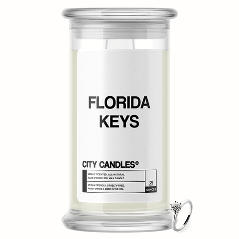 Florida Keys City Jewelry Candle