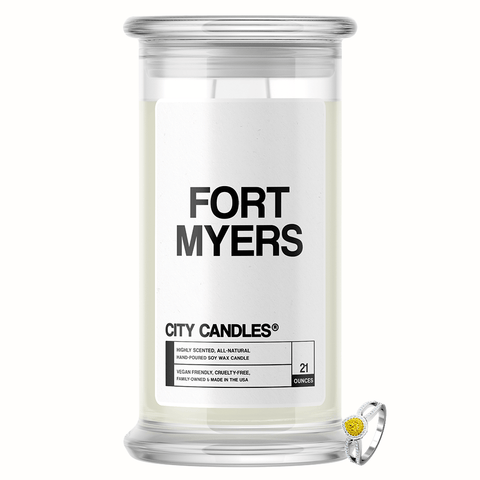 Fort Myers City Jewelry Candle - BathBombs.Com