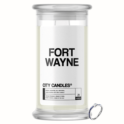 Fort Wayne City Jewelry Candle