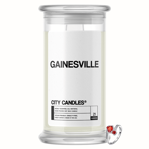 Gainesville City Jewelry Candle