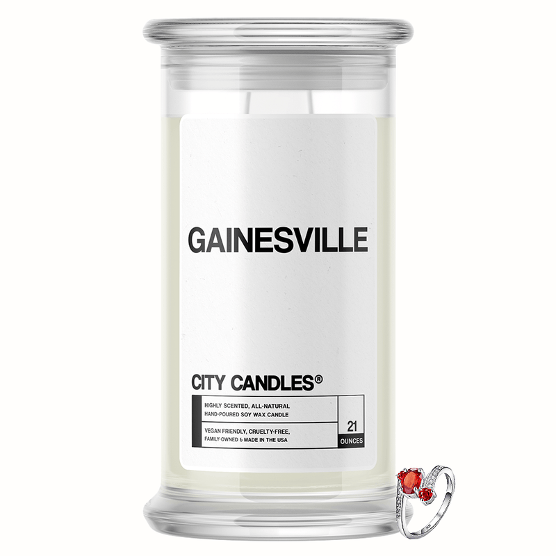 Gainesville City Jewelry Candle - BathBombs.Com