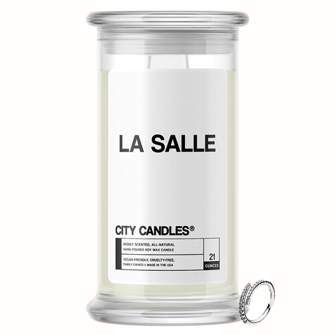 La Salle City Jewelry Candle