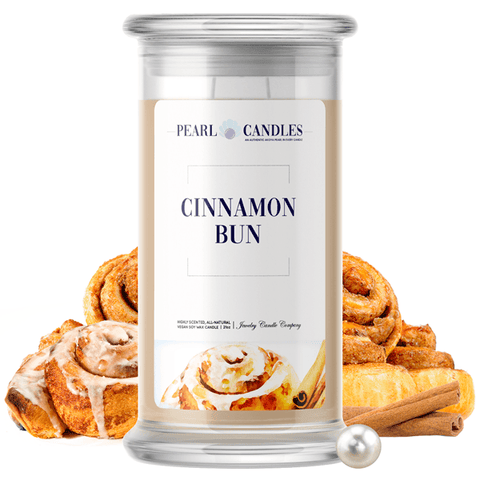 Cinnamon Bun Pearl Candle - BathBombs.Com