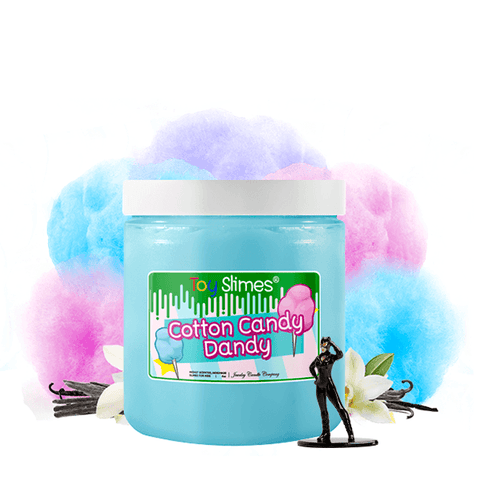 Cotton Candy Dandy Toy Slime - BathBombs.Com