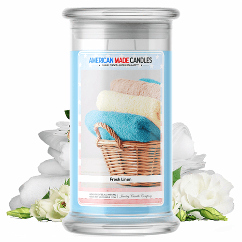Fresh Linen | American Made Candle® - BathBombs.Com