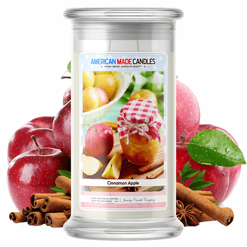 Cinnamon Apple | American Made Candle® - BathBombs.Com