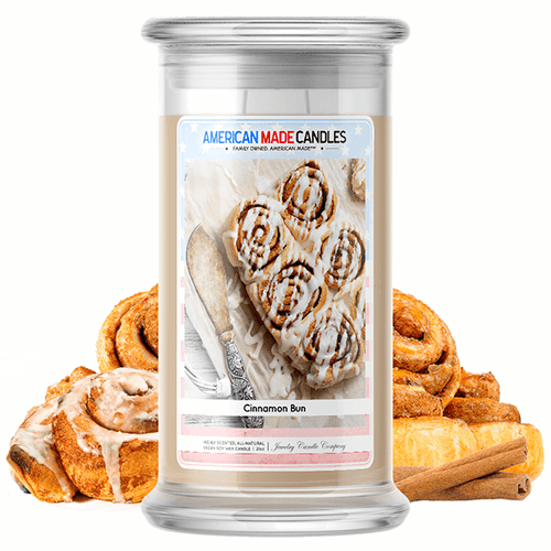 Cinnamon Bun | American Made Candle® - BathBombs.Com