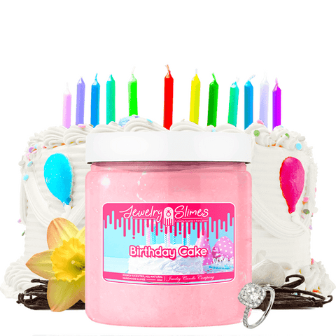 Birthday Cake | Jewelry Slime® - BathBombs.Com