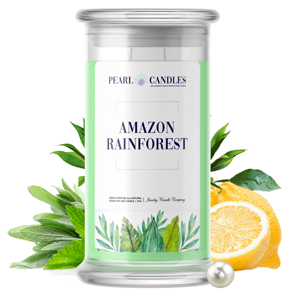 Amazon Rainforest Pearl Candle - BathBombs.Com