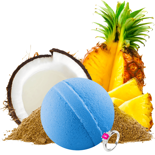 Tiki Party | Single Jewelry Bath Bomb® - BathBombs.Com