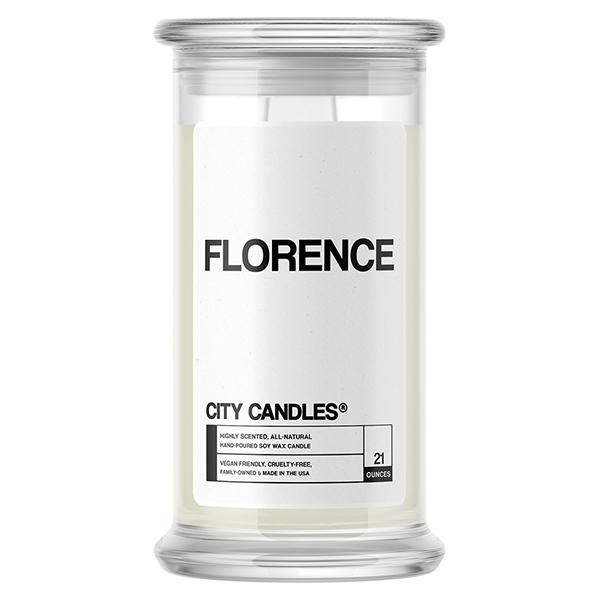 Florence City Candle - BathBombs.Com