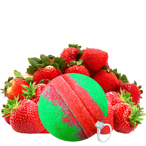 Strawberry Fields | Single Ring Bath Bomb® - BathBombs.Com