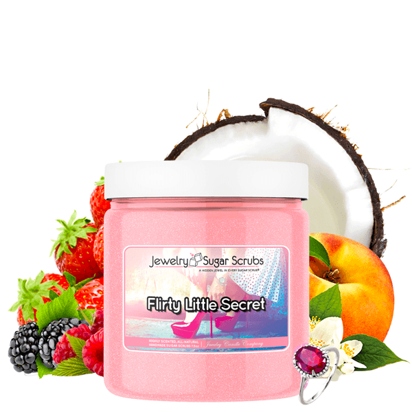 Flirty Little Secret Jewelry Sugar Scrub - BathBombs.Com