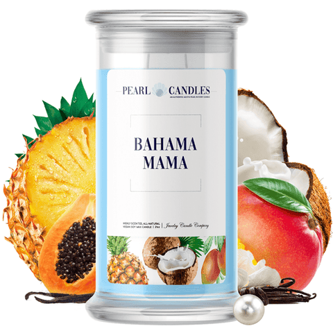 Bahama Mama Pearl Candle - BathBombs.Com