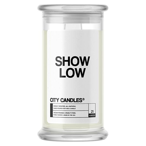 Show Low City Candle - BathBombs.Com