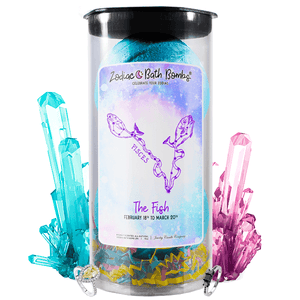 Pisces Jewelry Zodiac Bath Bombs - BathBombs.Com