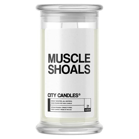 Muscle Shoals City Candle
