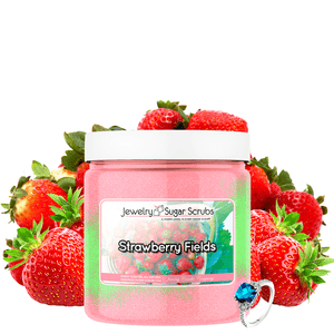 Strawberry Fields Jewelry Sugar Scrub - BathBombs.Com