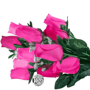 Pink Bouquet Charm Roses - BathBombs.Com