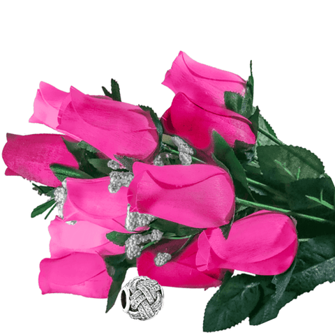 Pink Bouquet Charm Roses