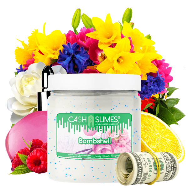 Bombshell Cash Slime - BathBombs.Com
