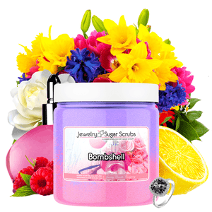 Bombshell Jewelry Sugar Scrub - BathBombs.Com