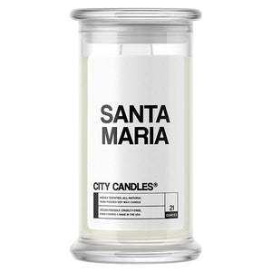 Santa Maria City Candle - BathBombs.Com