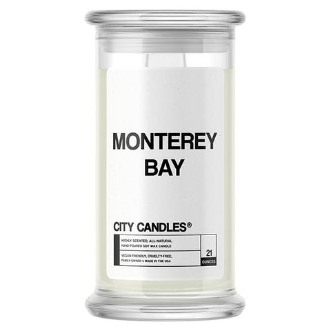 Monterey Bay City Candle