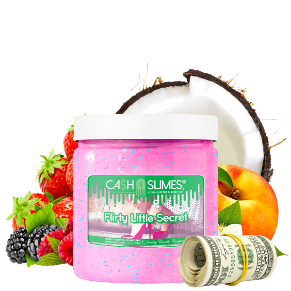Flirty Little Secret Cash Slime - BathBombs.Com