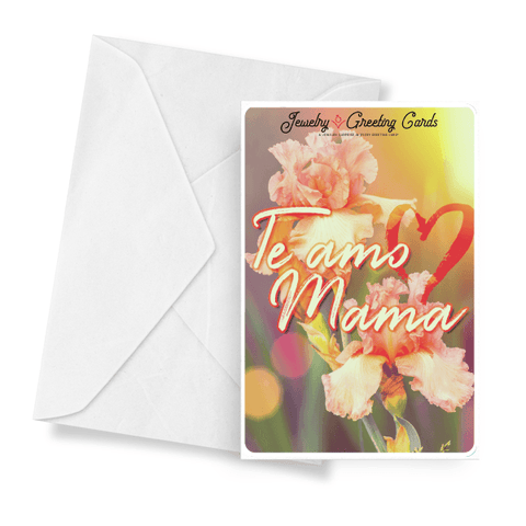 Te Amo Mama Jewelry Greeting Card - BathBombs.Com