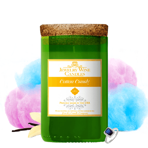 Cotton Candy | Jewelry Wine Candle® - BathBombs.Com
