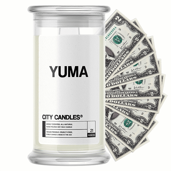 Yuma City Cash Candle - BathBombs.Com
