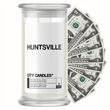 Huntsville City Cash Candle - BathBombs.Com