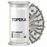 Topeka City Cash Candle - BathBombs.Com