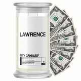 Lawrence City Cash Candle - BathBombs.Com