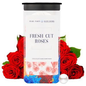 Fresh Cut Roses Pearl Party Bath Bombs Twin Pack - BathBombs.Com