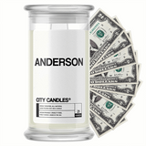 Anderson City Cash Candle - BathBombs.Com