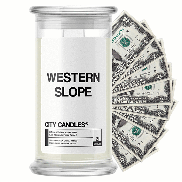 Western Slope City Cash Candle - BathBombs.Com