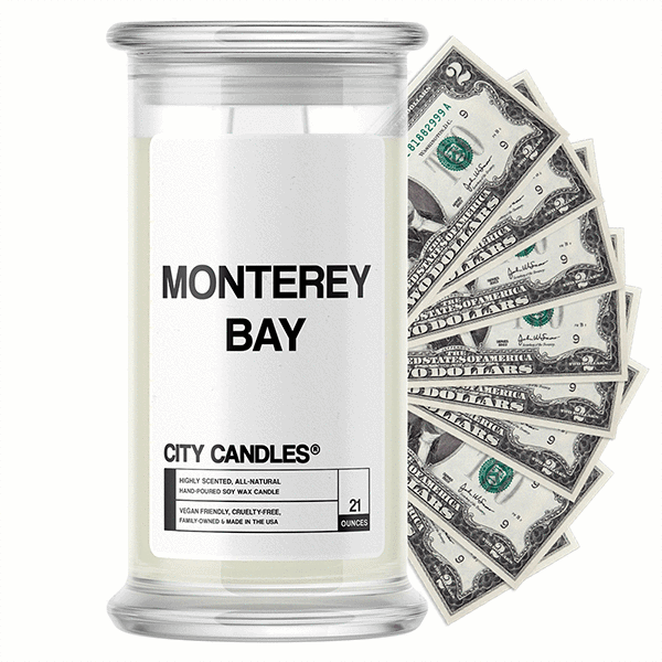 Monterey Bay City Cash Candle - BathBombs.Com