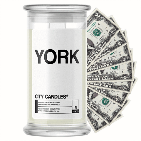 York City Cash Candle