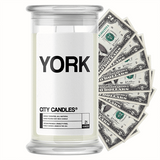 York City Cash Candle - BathBombs.Com