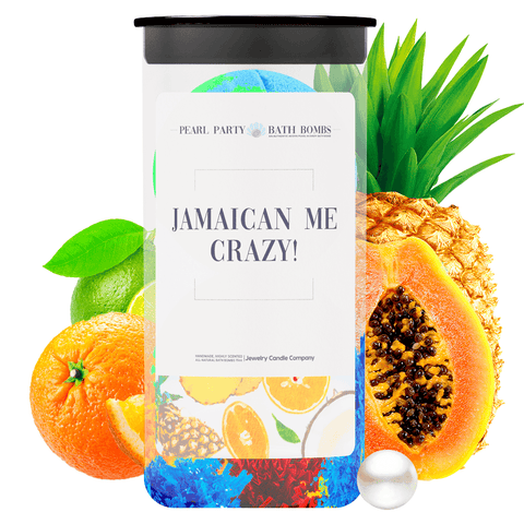 Jamaican Me Crazy! Pearl Party Bath Bombs Twin Pack - BathBombs.Com