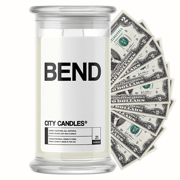 Bend City Cash Candle - BathBombs.Com