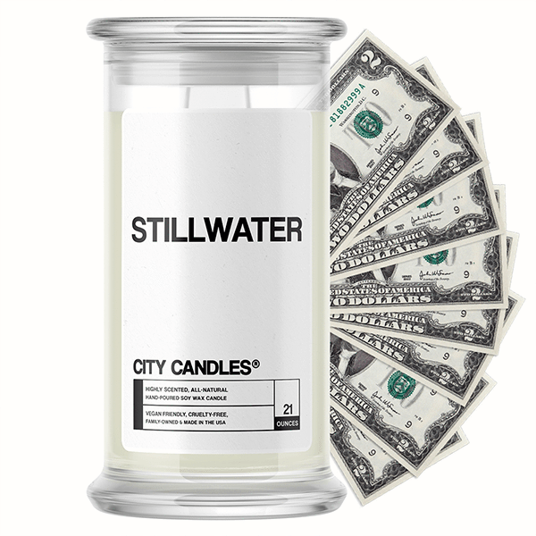 Stillwater City Cash Candle - BathBombs.Com