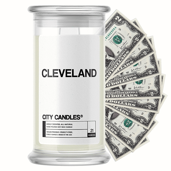 Ceveland City Cash Candle - BathBombs.Com