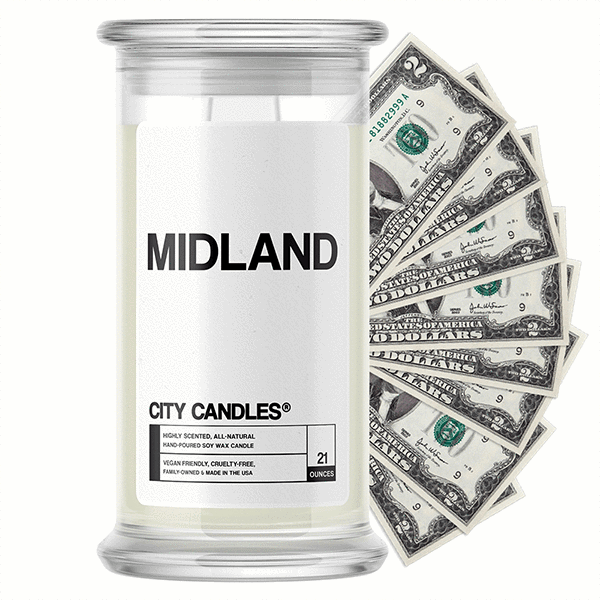 Midland City Cash Candle - BathBombs.Com